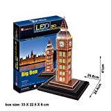 Cubic Fun 3D Jigsaw Puzzle Model Toy Building - Big Ben Clock Tower London