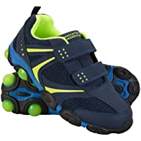 Mountain Warehouse Light Up Junior Shoes - Durable Shoes, Lightweight Footwear, Breathable Kids Shoes, Hook & Loop…