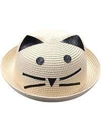 Lindos Sombreros para Niñas Y Niños AIMEE7 Elegante Sombrero de Paja de  Playa 14060cdb61c