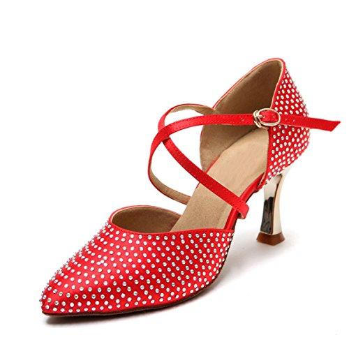 Miyoopark , Salle de bal femme Red-7.5cm Heel