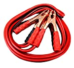 Description Jumper cables are used to start a vehicle with a dead battery. The jumper cables are attached to the dead battery and a fully charged battery in another vehicle. Once the vehicle with the dead battery is started, drive the vehicle to char...
