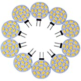 8W G4 Luces LED de Doble Pin T 15 SMD 5730 600-700 lm Blanco Cálido / Blanco Fresco Decorativa DC 12 V 10 piezas , white