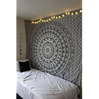 Elephant Mandala Design Wall Tapestry