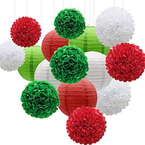 KAXIXI - Set decoración Fiestas 15 Unidades, Papel