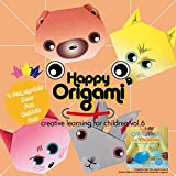 Origami-apprendimento creativo per bambini Vol.6-36fogli-tradizionale giapponese pieghevole. Include 4Fun origami models: coniglio, farfalla, pulcino, fiore
