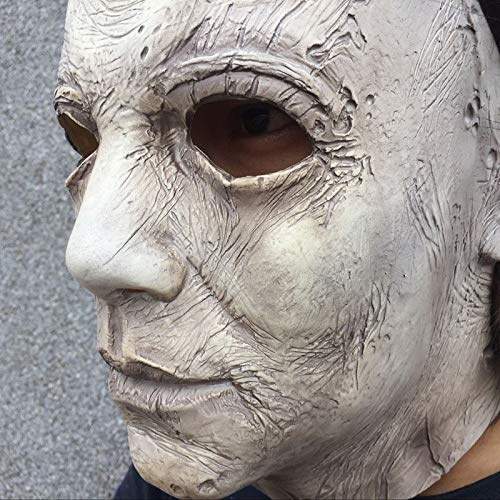 Geist Für Kostüm Erwachsene Mumie Gesicht - WSJDE Halloween Cosplay Kostüm Dress Up Gesicht Latex   Maske Partei Maskerade Requisiten Phantasie