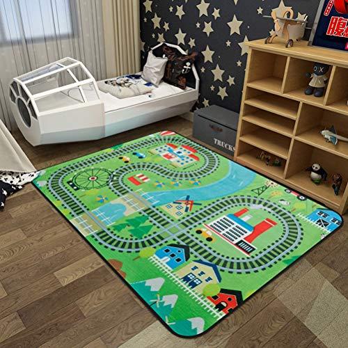 RUG LUYIASI- Nordic Baby Kinder niedlichen Land Cartoon matten Spielzeug Kinder Infant Krabbeln Gym teppiche spielmatte Kinder playmat Boden Carpet Kindergarten Matte Non-Slip mat -