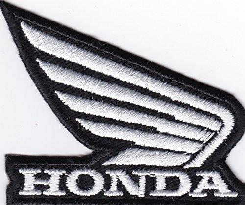 Patch Honda Alas Moto Racing Corse Logo cm 6x 5Parche Bordado Replica...
