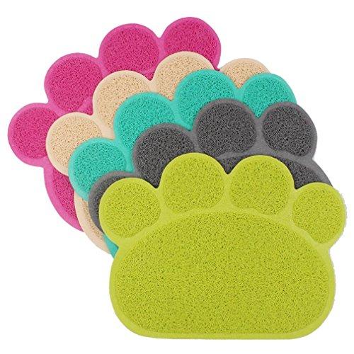 Nunubee Kratzbäume PVC Kratzmatten Pfote Design Kratzmöbel für Katzen Katzentoilette Zubehör, Gelegentliche Anlieferung der Farbe