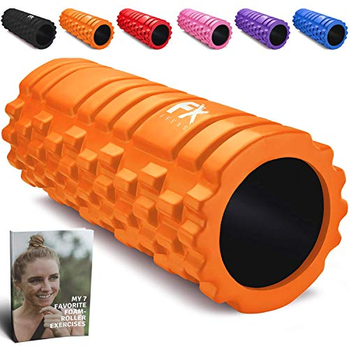 Rullo Massagio Foam Roller Trigger Point Grid Rullo in Schiuma Pilates - Rullo Massaggiatore di Schiuma Il Rilascio Miofasciale e il Sollievo del Dolore in Gambe e Corpo Doloranti - 2 Anni di Garanzia