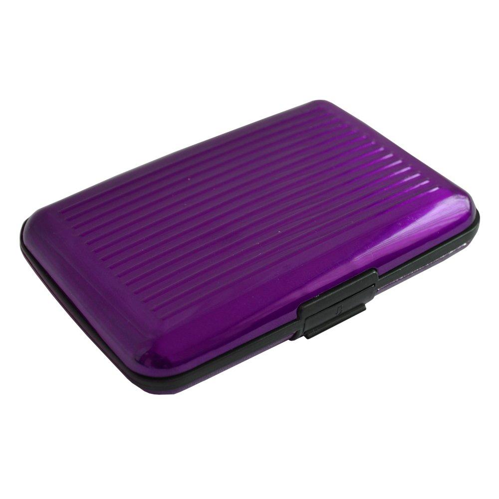 GrassVillage® Aluminum Credit Card Holder Wallet Pocket Aluminium ...