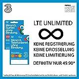 Prepaid FLAT RATE SIM Karte UNLIMITIERT DATEN LTE für Österreich (Mobiles Internet)