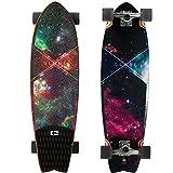 Globe Chromatic Cruiser Galaxy Complete Longboard Skateboard 9.7 x 33-Inch by Globe