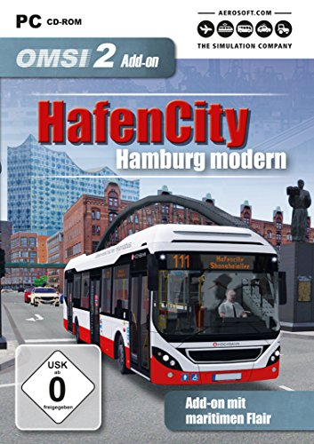 OMSI 2 - AddOn Hafen City Hamburg Modern