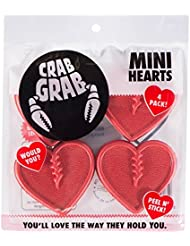 Crab Grab Mini Hearts Snowboard Stomp Pad Red