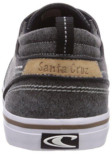 O'Neill Santa Cruz Washed Canvas, Baskets Basses homme Noir - Schwarz (Black (9900))