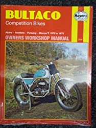 Bultaco Competition Bikes Owner's Workshop Manual (Motorcycle Manuals)