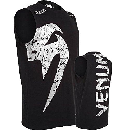 Venum Tank Top Giant - MMA Shirt,Muscle Shirt,Stringer,Tank Shirt,Fitness Shirt Black