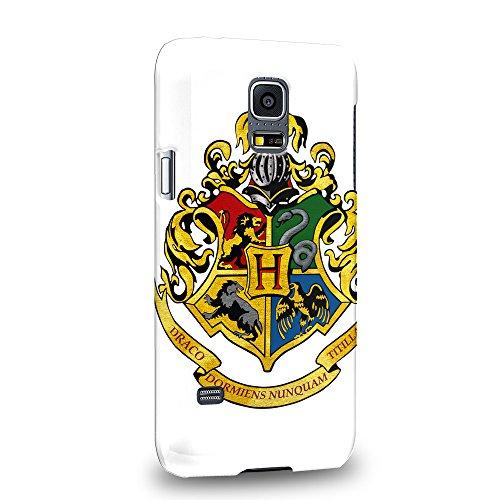 Case88 Premium Designs Harry Potter Hogwarts School of Witchcraft and Wizardry Sign 0920 Hülle / Schutzhülle für Samsung Galaxy S5 mini (nicht Normal S5 !) (Harry Potter S5 Fall)