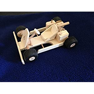 Go-Kart aus Holz