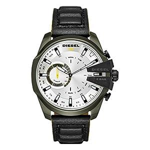 Diesel-Reloj-Analogico-para-Hombre-de-Cuarzo-con-Correa-en-Cuero-DZT1012