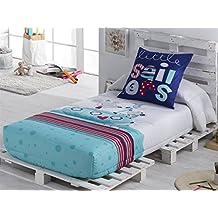 Tejidos JVR - Edredón Ajustable SAILOR cama 90