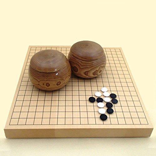 Vai set lavoro manuale go ciotole di legno di castagno a tre pezzi serie di squisita sovradimensionato No. 36