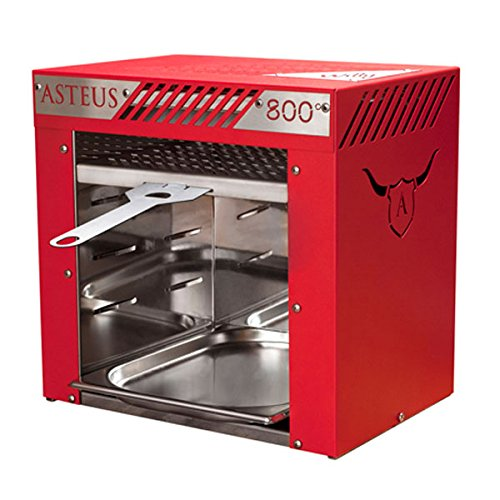 ASTEUS Red Willy - Infrarot Elektro Grill