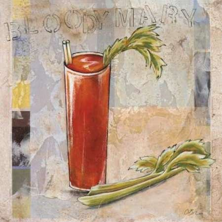 Impresión de Arte Fino en lienzo : Bloody Mary by Osborne, Susan - pequeña (43 x 43 Cms)