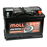 MOLL start|stop plus AGM 81070 12V 70Ah