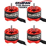 4pcs Gemfan 1105 7500KV Brushless Motoren für Micro FPV Racing Drone Mini Quadcopter Multirotoren