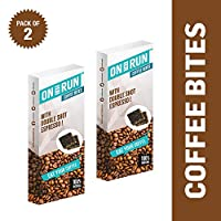 ONTHERUN Coffee Bites Combo (Pack of 2 x 40g Each)
