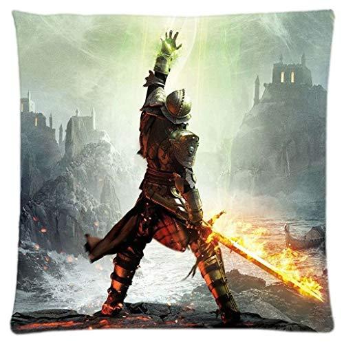 666PC Dragon Age Inquisition Customized Throw Pillow Case Cushion Cover Sleep Pillow Pillowcase Pillow Cover Mengxue Design Kissenbezüge -