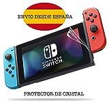 [2-Unidades] 2017 Nintendo Switch Protector de Pantalla Hepooya Nintendo Switch Cristal Templado para Nintendo Switch Cristal Protector, sin Burbujas, 9H Dureza, Ultra-trasparente, Ajuste Perfecto