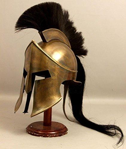 King Leonidas Spartan Helm Warrior Kostüm Mittelalter Helm SCA Geschenk ()