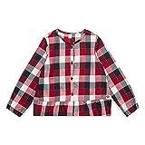 ESPRIT KIDS Mädchen Bluse RM1201307 Rot (Chockcherry 362), (Herstellergröße: 128+)