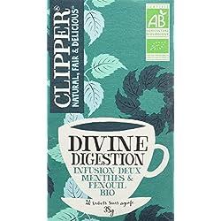 Clipper Infusion Bio Divine Digestion 20 sachets - Lot de 2