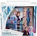Disney Frozen 2 Diario Secreto Para Niña Elsa Anna El Reino del Hielo, Diarios Para Escribir, Libretas Bonitas Candado y Llaves, El Set Incluye Frozen Stickers bolígrafo Sello, Regalos Para Niñas por Sambro