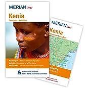 Kenia Tansania Sansibar: MERIAN live! - Mit Kartenatlas im Buch und Extra-Karte zum Herausnehmen