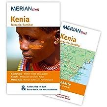 MERIAN live! Reiseführer Kenia Tansania Sansibar: MERIAN live! - Mit Kartenatlas im Buch und Extra-Karte zum Herausnehmen