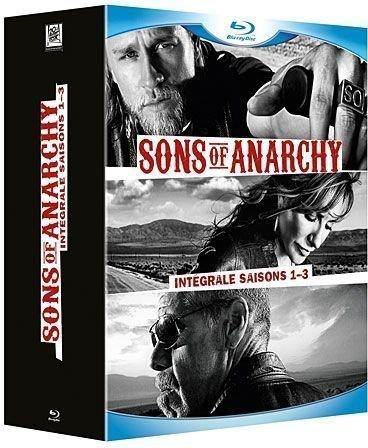 Sons of anarchy, Intégrale saisons 1 à 3 [Blu-ray]