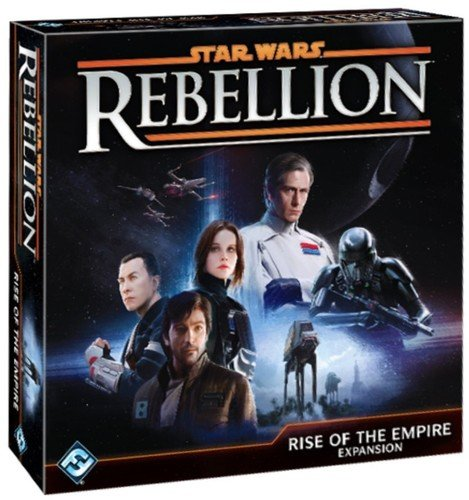 Fantasy FFGSW04 - Juego de Expansión Star Wars Rebellion, Rise of The Empire