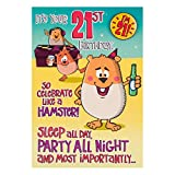 "Hallmark 21st Birthday Card ""Your 21st"" - Medium"