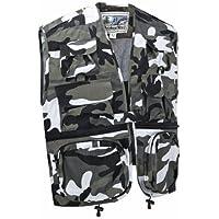 Camouflage Multi-Pocket Utility Vest Waistcoat Gilet