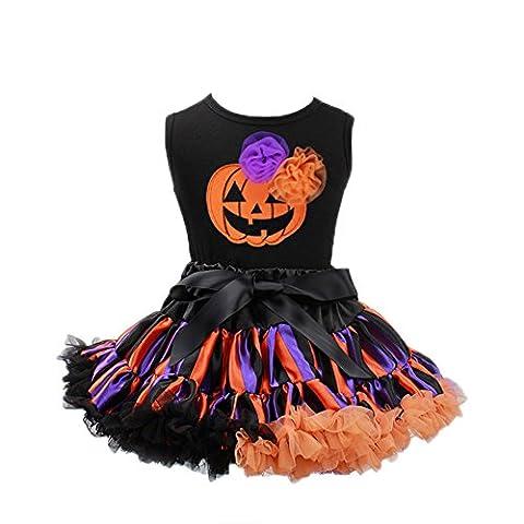 Zantec Baby Mädchen Ballettröckchen Kleid Halloween Kinder Kleidung Weste Rock Party Dress Up Foto Stützen 2 (Gruppe Von Vier Kostüme)
