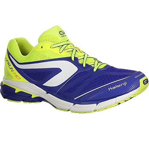 653926de3 Kalenji 3608429888444 Kiprun Md Mens Running Shoes Blue Yellow ...