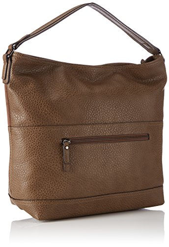 Tom Tailor - Valerie, Borsa a mano Donna Marrone (taupe 21)