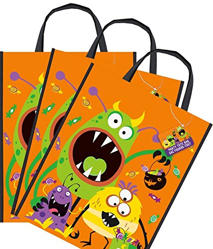 Kids Party World 8 Halloween Sammel Taschen kleine Monster - Sammeltasche