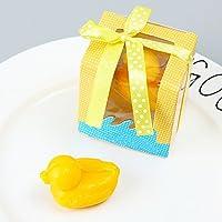 Lecimo Regalo Creativo lindo de 4 Pulgadas Mini Jabón Perfumado de la Boda Favorece la Ducha Nupcial del Partido