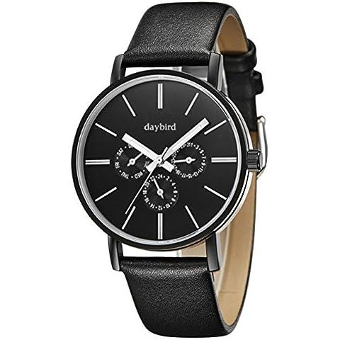 nuova multifunzione orologio/Moda sport impermeabile orologio luminoso/ business casual in pelle cinghia orologio-B